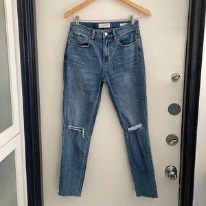Pacsun Vintage Icon distressed jeans size 26